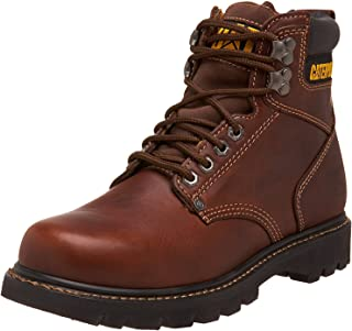 "Caterpillar Men's Second Shift 6"" Plain Soft Toe Work Boot"
