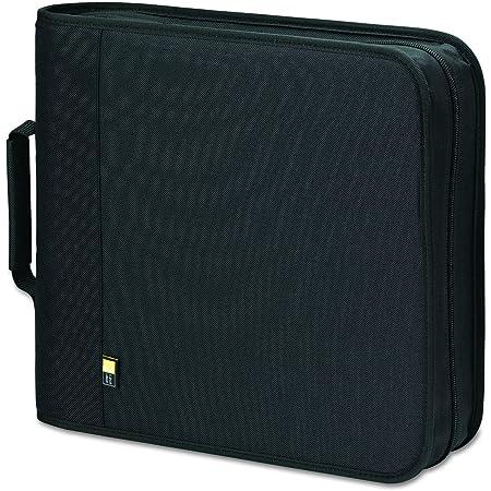 Case Logic BNB-208 208 Capacity CD/DVD Prosleeve Nylon Binder (Black)