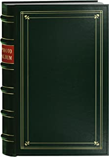 Pioneer BTA-204/HG Photo 204-Pocket Ring Bound Photo Album for 4 by 6-Inch Prints, Hunter Green Bonded Leather with Gold A...