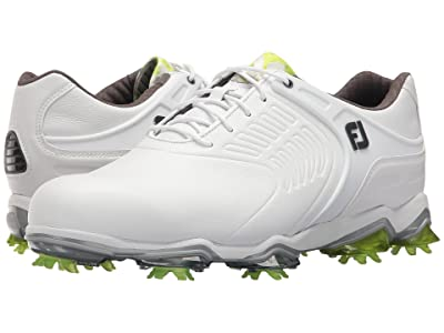 FootJoy Tour S Cleated TPU Saddle Strap (All Over White) Men