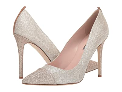 SJP by Sarah Jessica Parker Clarice (Champagne/Gold Fine Glitter) Women