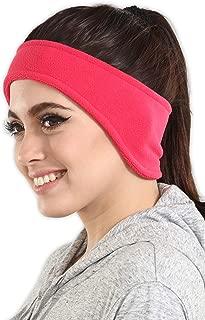 Ear Warmer Headband - Winter Fleece Ear Cover for Men & Women - Warm & Cozy Cold Weather Ear Muffs for Running, Cycling, Sports & Daily Wear - Soft & Stretchy Earmuffs - Thermal Polar Ear Band