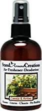 Concentrated Spray For Room / Linen / Room Deodorizer / Air Freshener - 4 fl oz - Scent - Cassia And Amber: Cassia and Amber combines the woody accords of the asian cinnamon tree called cassia with patchouli, eucalyptus, clove and floral red rose. Infused with clove, eucalyptus, lavender, patchouli, and rosemary essential oils.