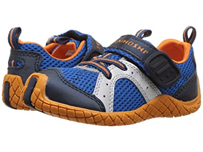 Tsukihoshi Kids Marina (Toddler/Little Kid) (Cobalt/Orange) Boys Shoes