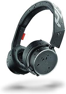 Plantronics Backbeat Fit 505 Kablosuz + Kablolu Spor Kulaklık, Siyah