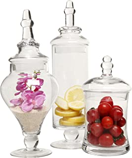 Best large decorative apothecary jars Reviews