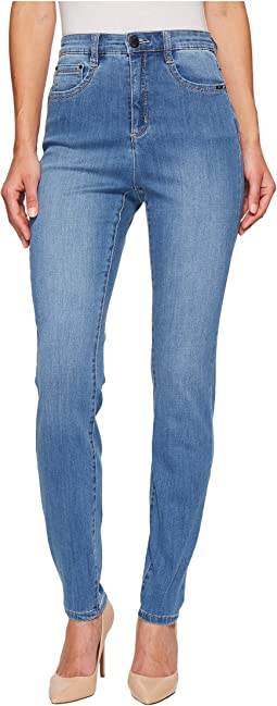 FDJ French Dressing Jeans Coolmax Denim Suzanne Slim Leg in Chambray