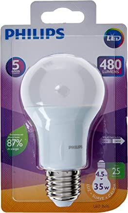 Lâmpada Led Bulbo LEDB4.5-35W MVS,Philips,LED Bulbo929001272311,Branco,A60