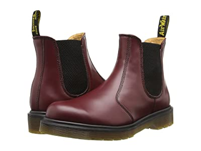 Dr. Martens 2976 (Cherry Red Smooth) Boots