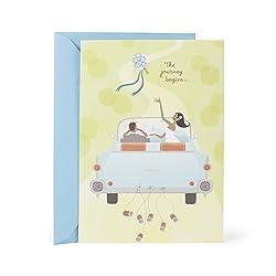 Hallmark Mahogany Wedding Card (Wedding Bouquet Toss)