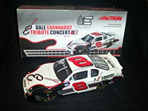 Dale Earnhardt Jr #8 Dale Earnhardt Sr Tribute Concert Legend E 2003 Monte Carlo 1/24 Scale Action Racing Collectables Hood Trunk Opens