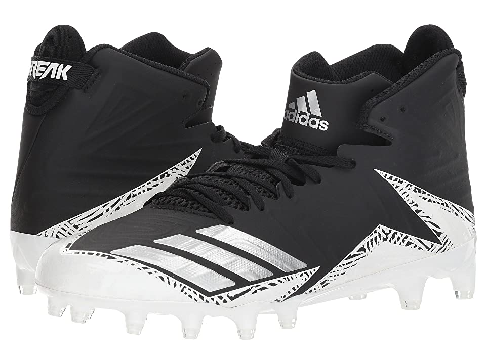 adidas freak X CARBON Mid Football (Black/Silver/White) Men