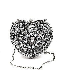 Odette SweetHeart Crystal Clutch bag