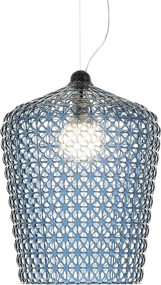 Kartell kabuki lampada a sospensione, blu 09175AZ