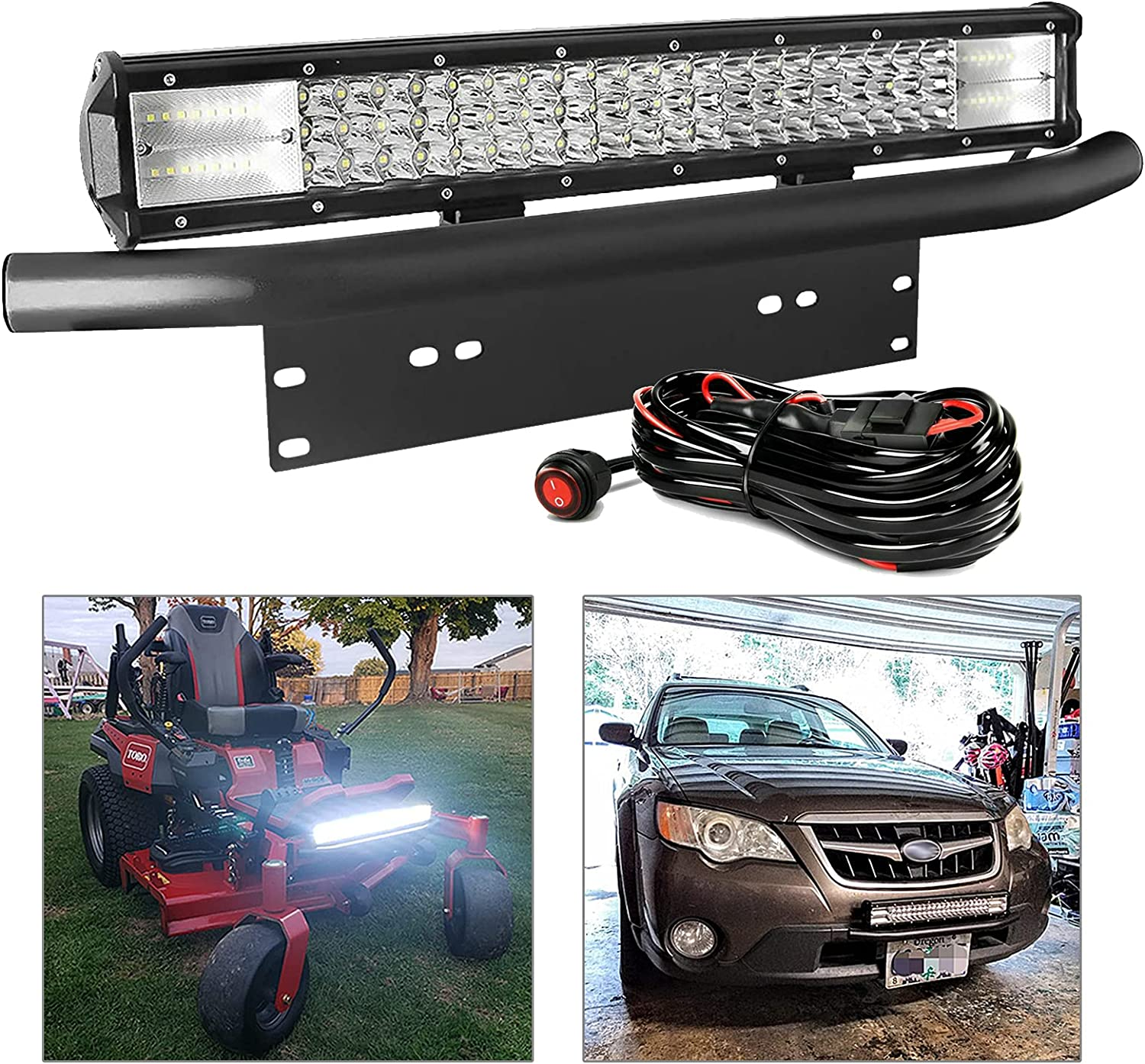 National uniform Arlington Mall free shipping LED Light Bar with Wiring Harness for EBESTauto Kit Compatible