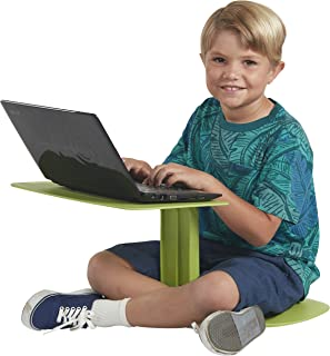 ECR4Kids The Surf Portable Lap Desk/Laptop Stand/Writing Table, Green