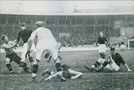 Vintage photo of A photo of 1931 Soccer/Football AIK vs Elfsborg