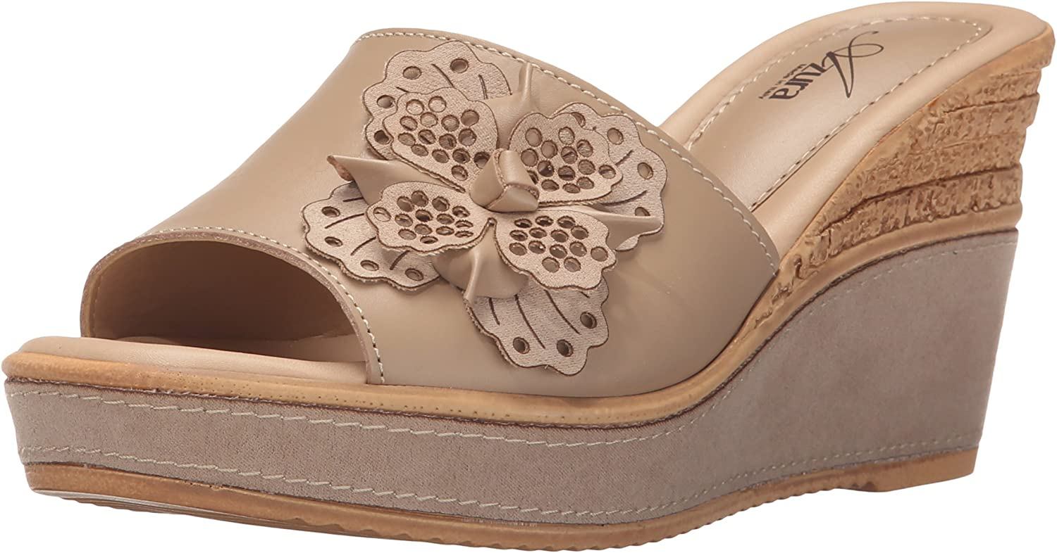 Azura by Spring Step Womens Montanara Wedge Sandal