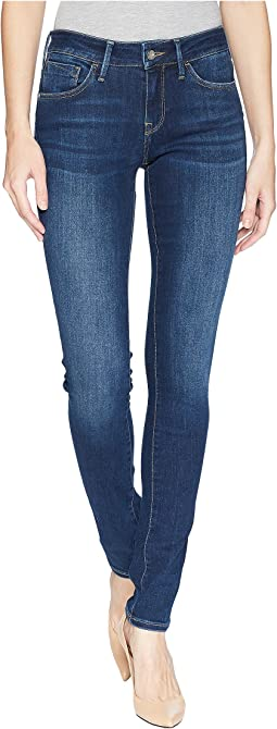 Mavi Jeans Alexa Mid-Rise Skinny in Dark Supersoft