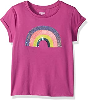 Gymboree Girls' Little Short Sleeve Printed Knit Top