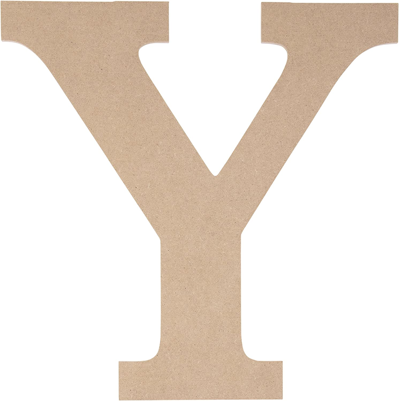 Juvale Unfinished Wooden Letters Greek Regular dealer for Letter Max 88% OFF Y Upsilon 11