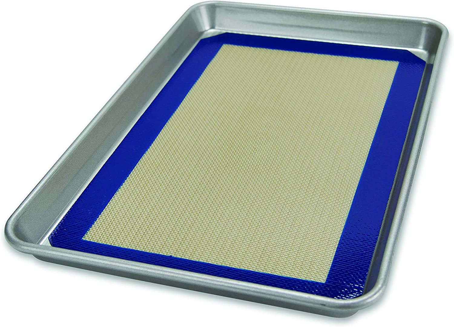 USA Pan Bakeware Half Sheet Pan, Warp Resistant Nonstick Baking Pan, Made in the USA from Aluminized Steel: Jelly Roll Pans: Kitchen & Dining