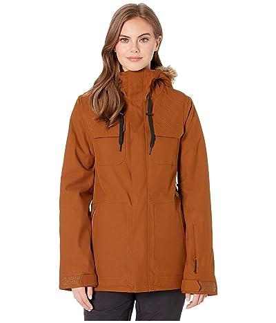 Volcom Snow Shadow Insulated Jacket (Copper) Women
