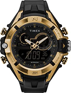 Timex Mens Quartz Watch, Digital Display And Resin Strap - TW5M23100