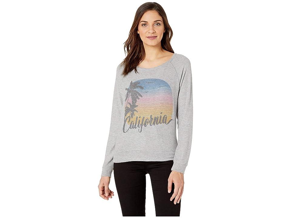 P.J. Salvage California Sweater (Heather Grey) Women