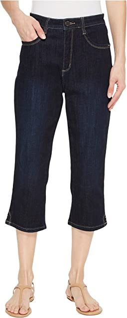 Coolmax Denim Peggy Capris in Twilight