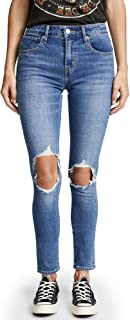 Women's 721 High Rise Distressed Skinny Jeans