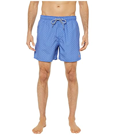 Ted Baker Loother Geo Swim Shorts (Blue) Men