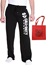 Call of Duty Ghost Mens' Lounge Pants & Tote Multi-Pack