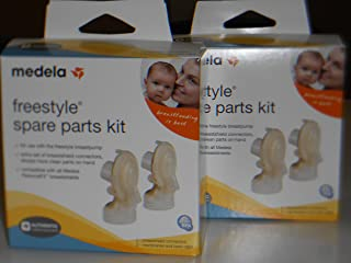 2 Medela Freestyle Spare Parts Kit