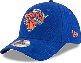 New Era NBA 9FORTY New York Knicks Hat The League Adult Adjustable Cap Blue