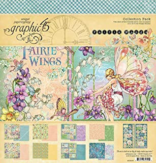 GRAPHIC 45 Fairie Wings Collect 12X12 Pack