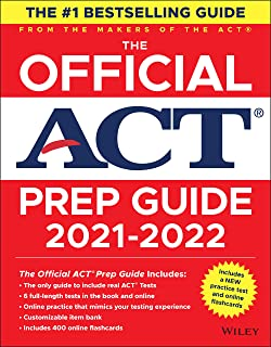 The Official ACT Prep Guide 2021-2022