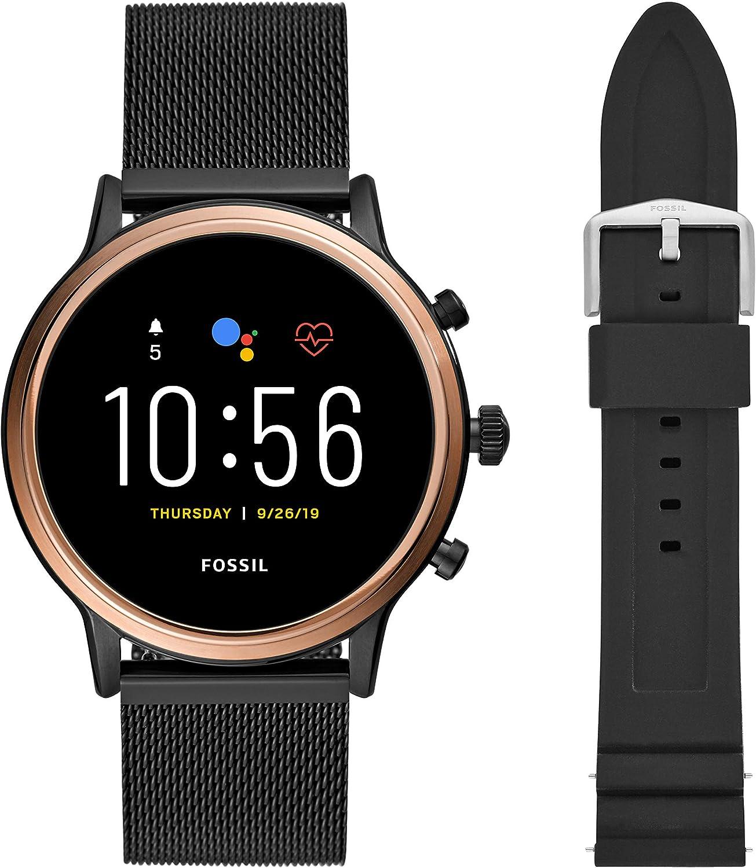 Fossil Gen Ranking TOP13 5 Julianna Stainless Steel Touchscreen Smartwatch wit OFFicial