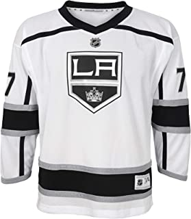 NHL by Outerstuff NHL Los Angeles Kings Youth Boys Jeff Carter Replica Jersey-Away, White, Youth Small/Medium (8-12)
