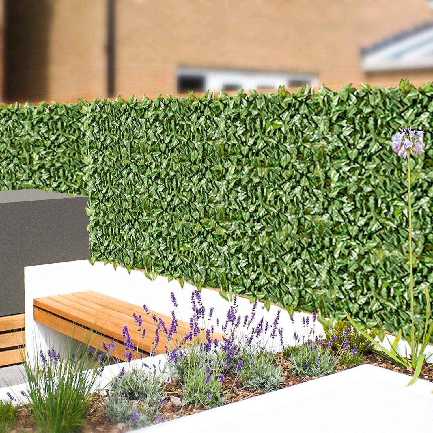 Bombing Albuquerque Mall new work Windscreen4lessArtificial Hedge Faux Ivy Screen Privacy Fence Fa