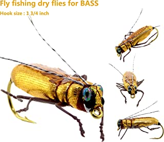 YAZHIDA Fly Fishing Flies Kit Fly Assortment Trout Bass Fishing with Fly Box