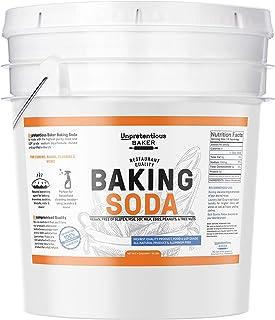 Baking Soda (Sodium Bicarbonate) (5 gallon) by Unpretentious Baker, Resealable Bucket, Restaurant Quality, Highest Purity,...