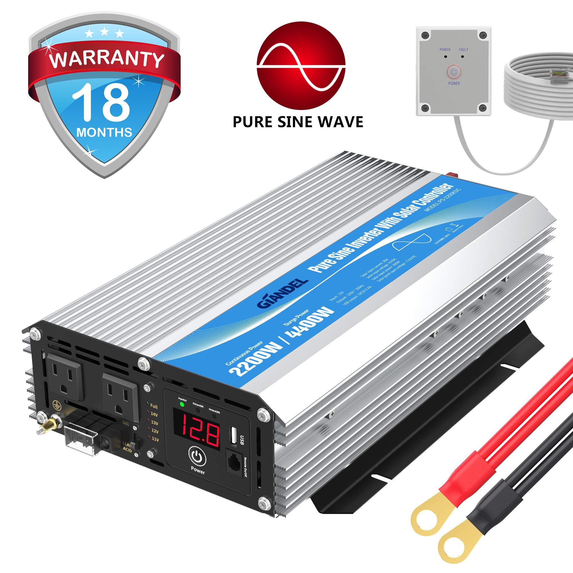 Giandel Inverter Control Display Outlets