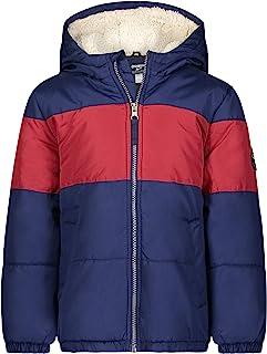 boys Heavyweight Winter Jacket With Sherpa Lining
