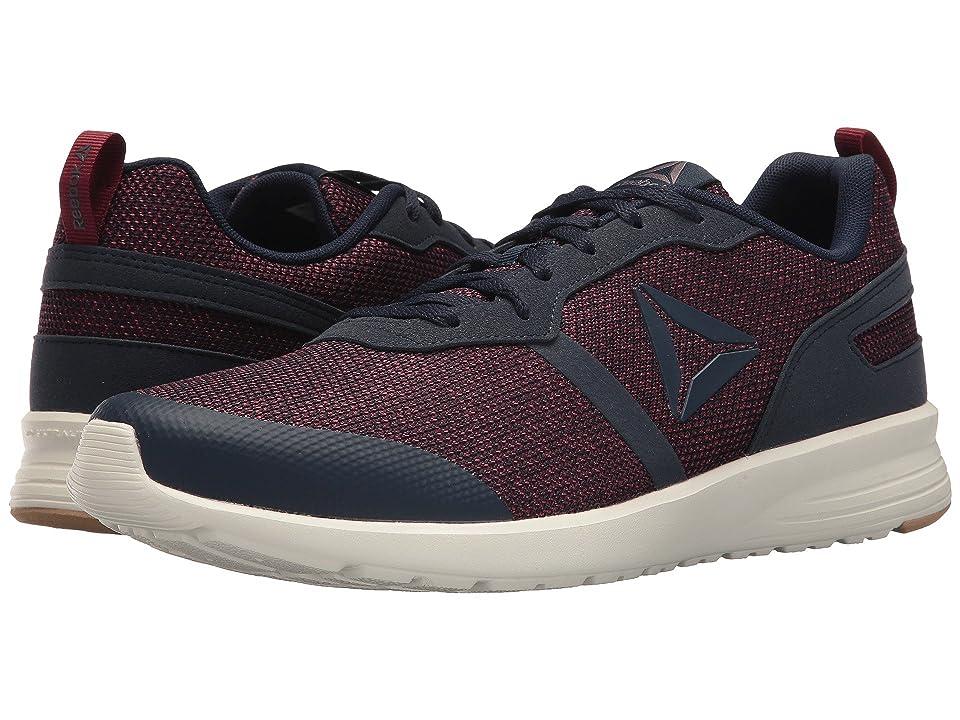 Reebok Foster Flyer (Collegiate Navy Urban Maroon Ash Grey Chalk Field Tan)  Men s Running Shoes e48d05dc4