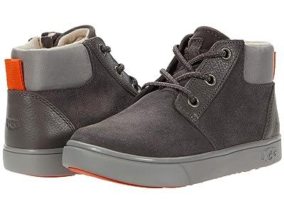 UGG Kids Jayes Sneaker (Toddler/Little Kid) (Charcoal) Kid