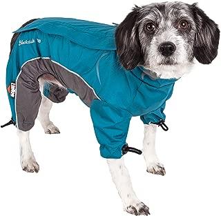 DogHelios Blizzard Full-Bodied Adjustable and 3M Reflective Dog Jacket