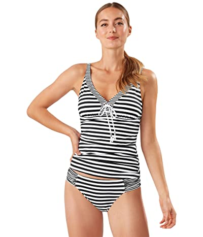Tommy Bahama Breaker Bay OTS Lace-Up Tank (Black) Women