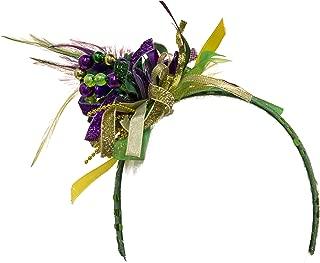 Unisex-Adult's Mardi Gras Headband, Purple, Adjustable
