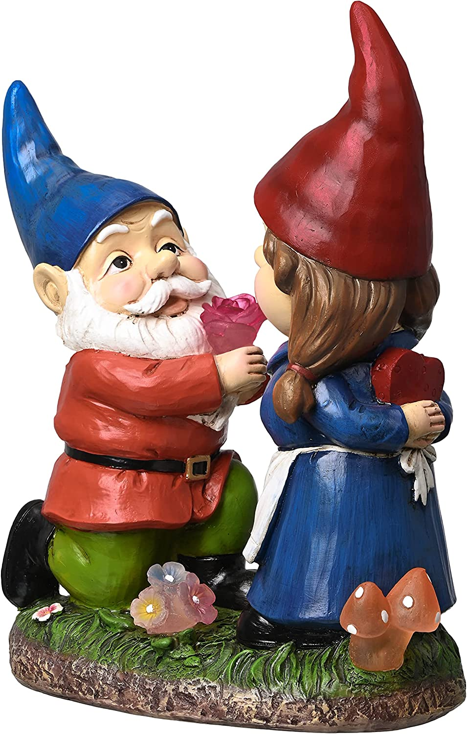 TERESA'S All 67% OFF of fixed price stores are sold COLLECTIONS Romantic Gnome Couple Statue and Garden Scu